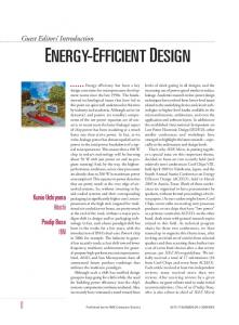 energy-efficient design - IEEE Xplore