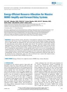 Energy-Efficient Resource Allocation for Massive MIMO ... - IEEE Xplore