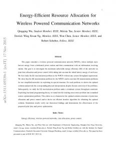 Energy-Efficient Resource Allocation for Wireless Powered ...