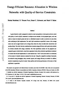 Energy-Efficient Resource Allocation in Wireless Networks with ... - arXiv
