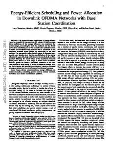 Energy-Efficient Scheduling and Power Allocation in Downlink ... - arXiv
