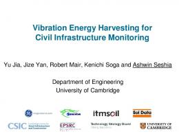 Energy Harvesting from Ambient Vibrations