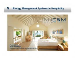 Energy Management Systems in Hospitality