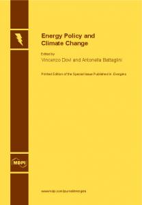 Energy Policy and Climate Change