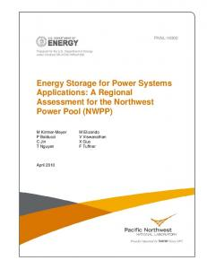Energy Storage for Power Systems Applications - CiteSeerX