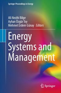Energy Systems and Management | SpringerLink