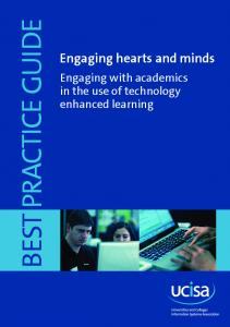 Engaging hearts and minds - ucisa