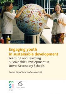 Engaging youth in sustainable development