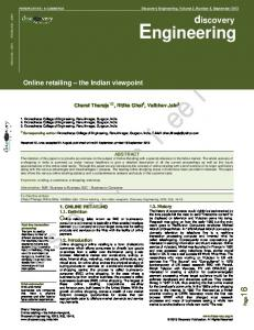 Engineering - Discovery Publication