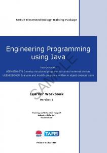 Engineering Programming using Java - vetres