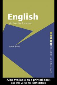 English: An Essential Grammar - Readers StuffZ
