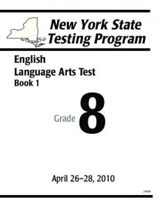 English Language Arts Test