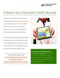 Enhance Your Electronic Health Records