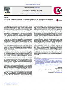 Enhanced antitumor effects of hTRAIL by binding to endogenous ...