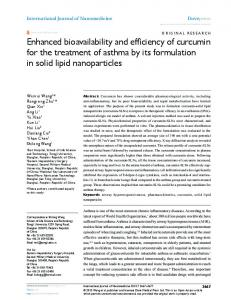 Enhanced bioavailability and efficiency of ... - Semantic Scholar