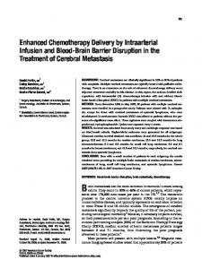 Enhanced chemotherapy delivery by ... - Wiley Online Library