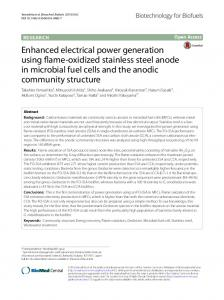 Enhanced electrical power generation using flame