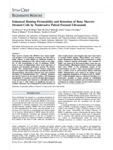 Enhanced Homing Permeability and Retention ... - Wiley Online Library