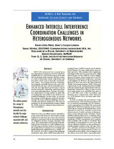 enhanced intercell interference coordination challenges ... - IEEE Xplore