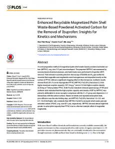 Enhanced Recyclable Magnetized Palm Shell ... - Semantic Scholar