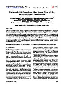 Enhanced Self-Organizing Map Neural Network for DNA Sequence ...