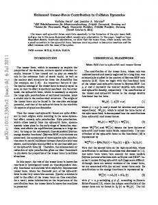 Enhanced Tensor-Force Contribution in Collision Dynamics