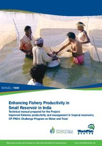 Enhancing Fishery Productivity in Small Reservoir ... - Aquatic Commons