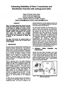 Enhancing Reliability of Power Transmission and ...