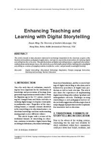 Enhancing Teaching and Learning with Digital