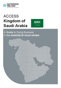Enterprise Ireland: Access Kingdom on Saudi Arabia