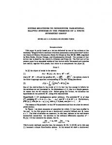 ENTIRE SOLUTIONS TO NONCONVEX VARIATIONAL ELLIPTIC ...