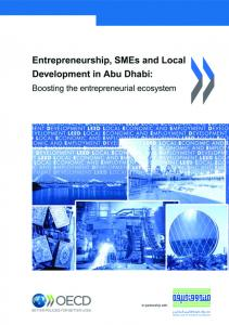Entrepreneurship and SME Financing in Abu ... - Pinto Consulting GmbH