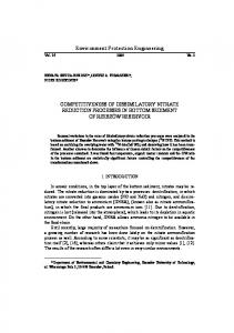 Environment Protection Engineering COMPETITIVENESS OF ...
