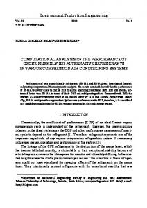 Environment Protection Engineering COMPUTATIONAL ANALYSIS