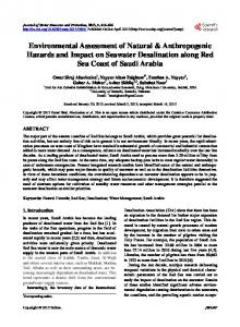 Environmental Assessment of Natural & Anthropogenic Hazards and ...