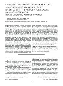 environmental characterization of global ... - Wiley Online Library