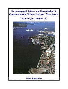 Environmental Effects and Remediation of ...