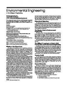 Environmental Engineering.pdf - San Diego State University