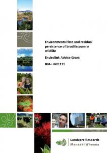 Environmental fate and residual persistence of ... - Connovation