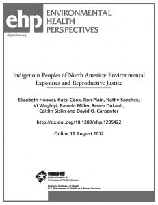 environmental health perspectives environmental health perspectives