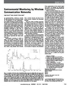 Environmental monitoring by wireless (PDF Download Available)