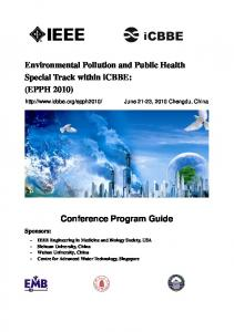 Environmental Pollution and Public Health Special ...