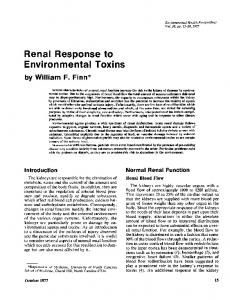 Environmental Toxins by WilliamF. Finn - BioMedSearch