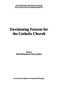 Envisioning Futures for the Catholic Church