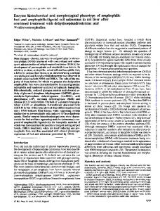Enzyme histochemical and morphological phenotype ...