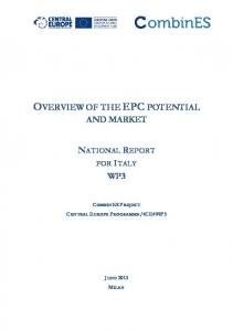 epc potential and energy efficiency subsidy schemes - eERG