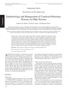 Epidemiology and Management of Common ... - Oxford Journals