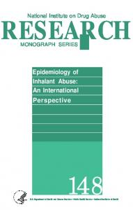 Epidemiology of Inhalant Abuse - Archives - National Institute on Drug ...