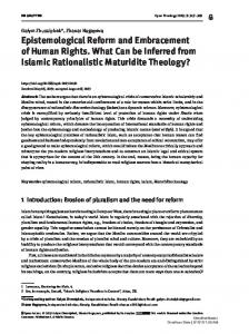 Epistemological Reform and Embracement of Human Rights ...www.researchgate.net › publication › fulltext › Epistemol
