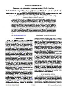 Epitaxial growth and electrical transport properties of Cr2GeC thin films